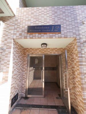 【エントランス】横浜元町ガーデン12