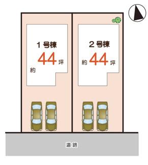 【区画図】神戸市垂水区本多聞6丁目