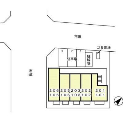 【区画図】リベラ オイカワ