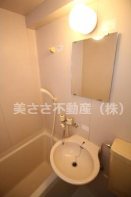 【浴室】メゾンドフローレスⅡ