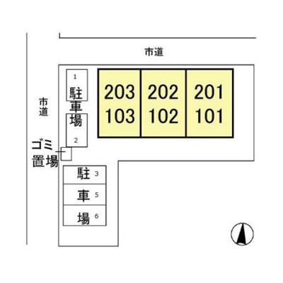 【区画図】エレガンス松本