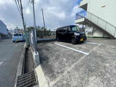 【駐車場】グリーンハイツ