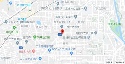 【地図】寿ハイツ (株)Roots