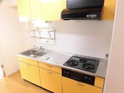 3口ガスシステムキッチン