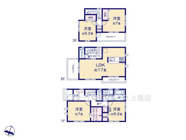 蓮田市東3丁目 新築一戸建て リーブルガーデン 01