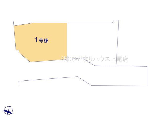 【区画図】蓮田市東3丁目 新築一戸建て リーブルガーデン 01