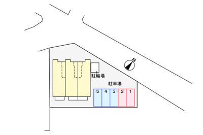 【駐車場】ハイブリッヂC
