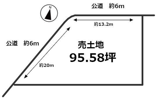 【土地図】東浦町大字森岡字飯喰場 売土地
