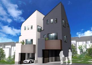 建物プラン例 B建物価格1690万円、建物面積64.81m2
