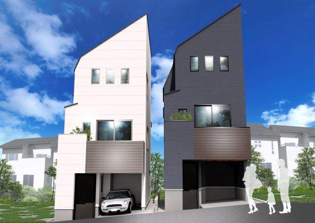 建物プラン例 A建物価格1690万円、建物面積65.24m2 B建物価格1690万円、建物面積64.81m2