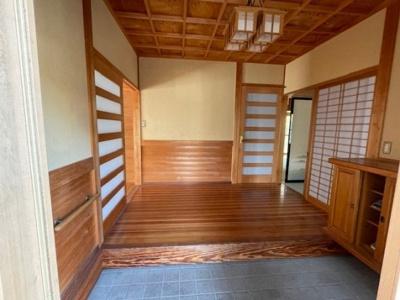 【玄関】鳥取市吉成2丁目戸建