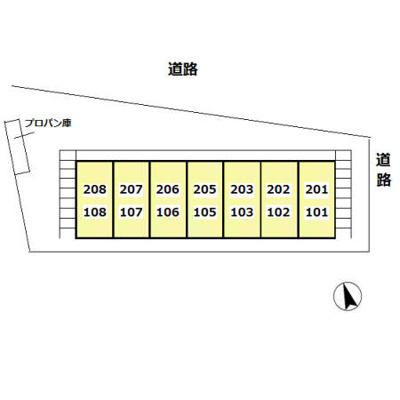 【区画図】テラムラハイツ