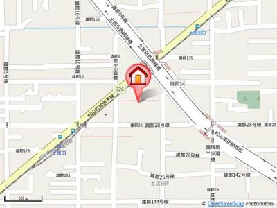 【地図】セジュール土居田