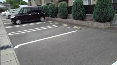 【駐車場】カーサグラートⅢ
