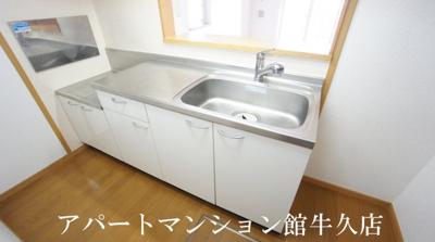 【キッチン】ボンヌシャンス・ヴィラA