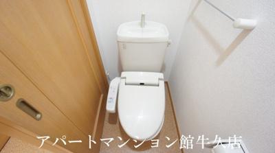 【トイレ】ボンヌシャンス・ヴィラA