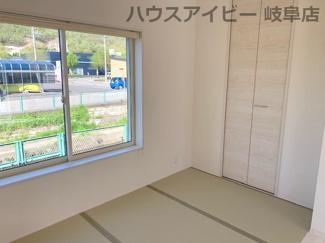 ♪岐阜市日野南新築建売 車並列4台駐車OK♪和室があると落ち着いた雰囲気になりますね