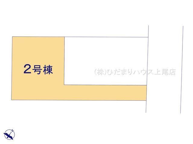 【区画図】上尾市五番町 1期 新築一戸建て リーブルガーデン 02