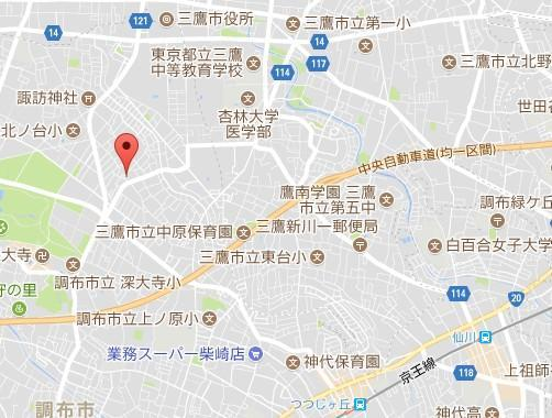 【地図】プラネットホームズ