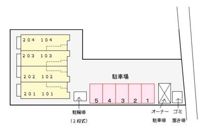 【区画図】メゾン・ブリエ