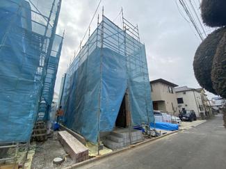 敷地約35坪で建物は述べ約30坪の4LDKです。