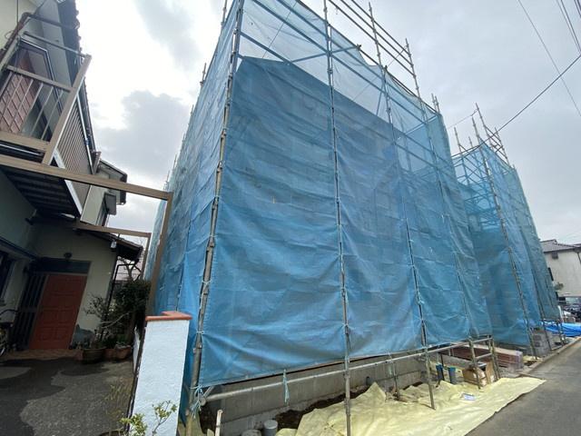 敷地約32坪で建物は述べ約29坪の3LDKです。