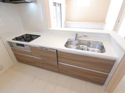 きれいなキッチンです 吉川新築ナビで検索