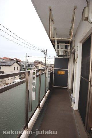 【バルコニー】スマータス幕張本郷