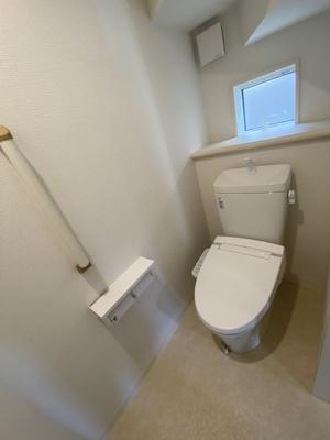 【トイレ】神戸市垂水区本多聞6丁目 2号棟 新築戸建