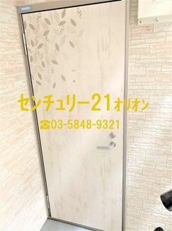 【玄関】クラッセ練馬3