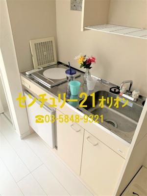 【キッチン】クラッセ練馬III-2F