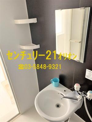 【洗面所】クラッセ練馬III-2F