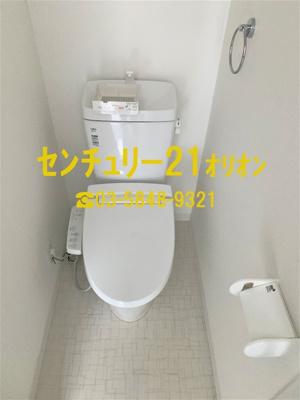 【トイレ】クラッセ練馬III-2F