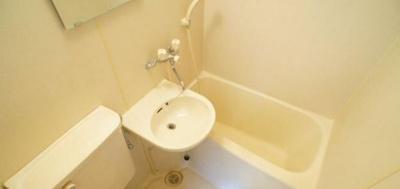 【浴室】まるいわパレス池尻