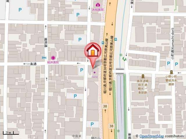 【地図】デトムワン一条通
