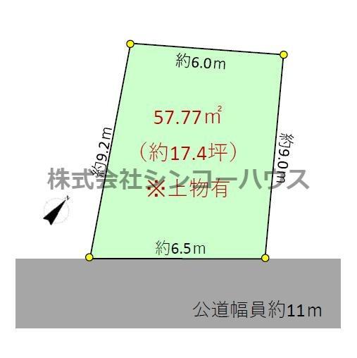【区画図】久喜中央2 売地