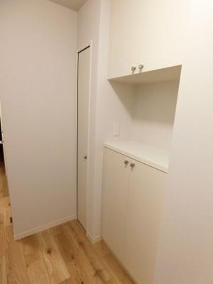 ※参考写真※シューズボックス付きで玄関すっきり片付きます!お客様もスムーズにお出迎えできますね♪