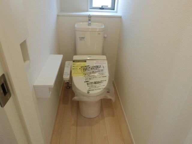 トイレは1・2階に設置されています。