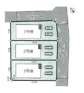 【区画図】神戸市西区竜が岡5丁目新築戸建