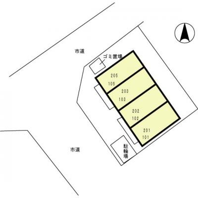 【区画図】セジュール千