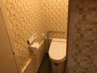 ウォシュレット付きトイレです