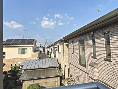 【展望】狭山市富士見2丁目・全1棟 新築一戸建 ~リビング階段~