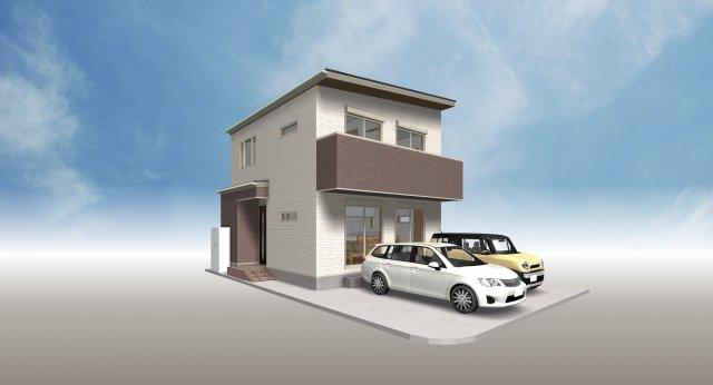 【外観】高知市幸町建築条件付売地