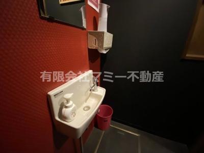【独立洗面台】諏訪栄町飲食店舗K