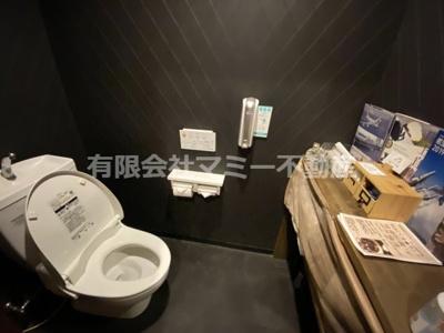 【トイレ】諏訪栄町飲食店舗K