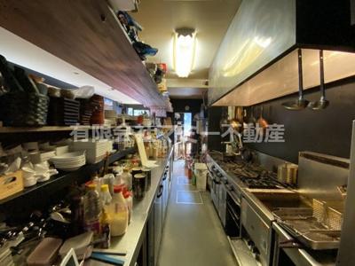 【キッチン】諏訪栄町飲食店舗K