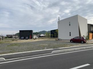 【前面道路含む現地写真】アイムの家☆美の浜プロジェクト分譲地2区画