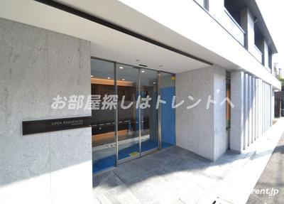 【エントランス】オープンレジデンシア初台