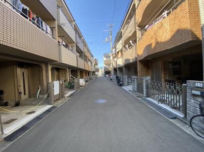 【前面道路含む現地写真】東大阪市末広町 中古戸建て