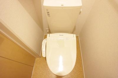 【トイレ】アズールつくばⅡ A棟